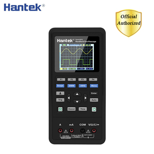 Hantek Digital Multimeter +Waveform Generator+Handheld Oscilloscope Portable 3in1 USB 2 Channel 40mhz 70mhz Best Tester Kit(China)
