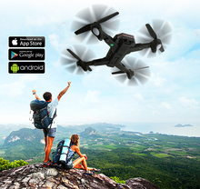 XS809S Foldable  Drone with Wide Angle 2MP HD Camera WiFi FPV XS809HW  RC Quadcopter Helicopter Mini Drone For Gifts FSWB visuo xs809s foldable selfie drone with wide angle hd camera wifi fpv xs809hw upgraded rc quadcopter helicopter mini dron xnc