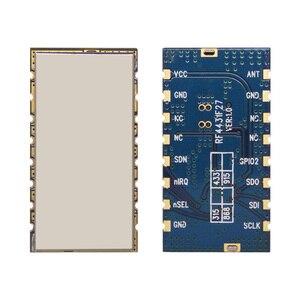 Image 2 - 2pcs/lot high performance 3km 868MHz 500mW embedded Wireless Transmitter Receiver RF Module FSK / GFSK Module RF4432F27