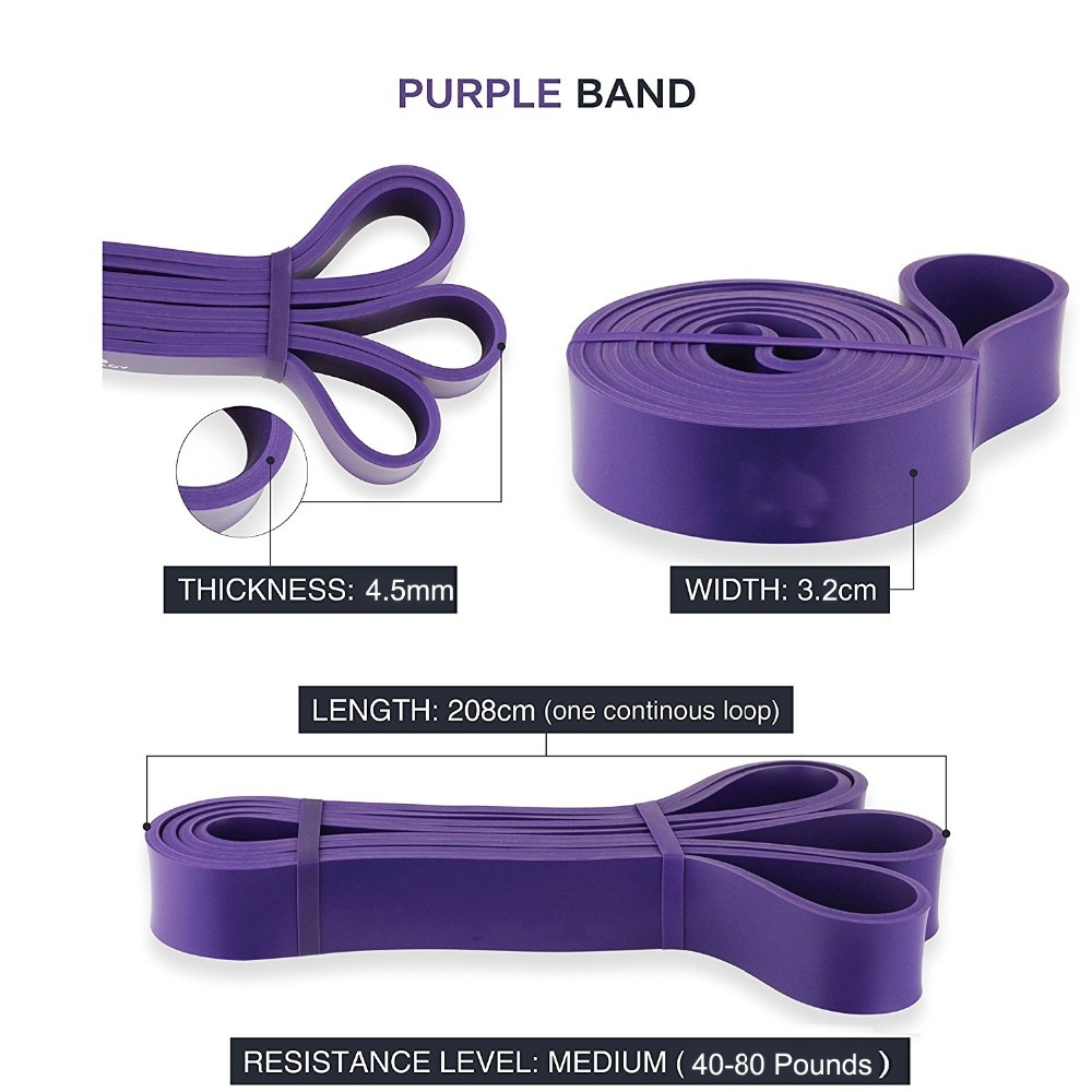 Resistance Band 5 Colors Available Latex Gym Strength Resistance Training Rubber Bands Fitness Equipment Yoga Rubber Loop Band resistance bands rubber band workout fitness gym equipment rubber loops latex yoga gym strength training athletic rubber bands