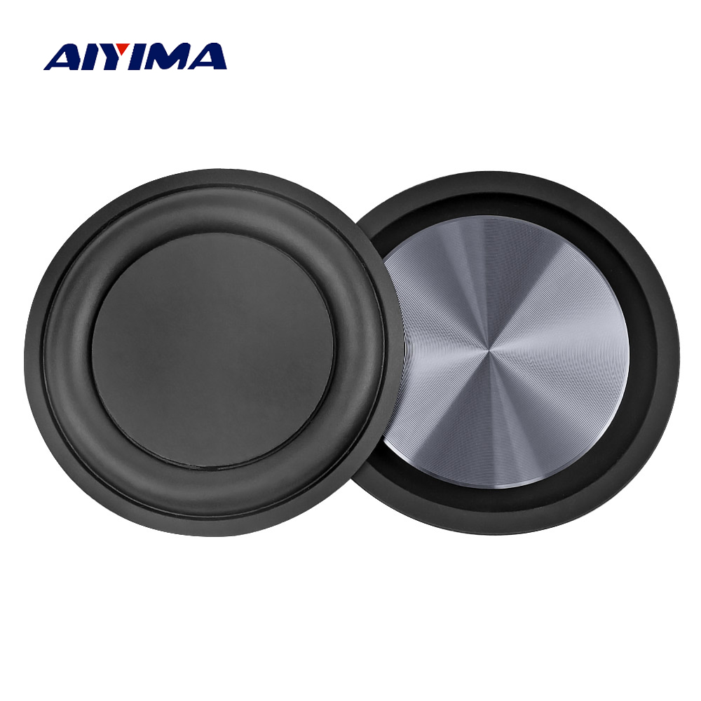 AIYIMA 2Pcs 62MM Bass Radiator Speaker Diaphragm Auxiliary Strengthen Bass Vibration Membrane Passive Radiator For Woofer DIY