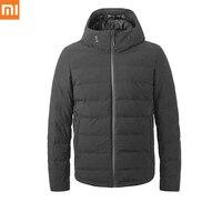 Оригинальный Xiaomi youpin контроль температуры пуховая куртка 90% серый гусиный пух Зарядка сокровище питание 38 до 50 градусов usb