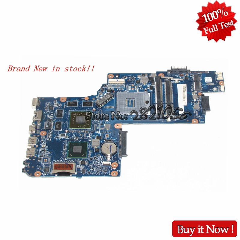 NOKOTION Brand New Laptop Motherboard For Toshiba L850 C850 H000052720 PGA989 HD 1GB HM76 Mainboard