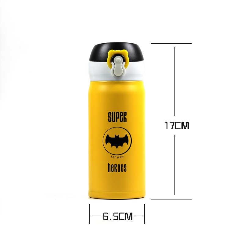 AIWILL милый мультфильм garrafa termica Термокружка термос нержавеющая сталь вакуумная колба для детей девочек мужчин бутылка воды 350 мл/500 мл