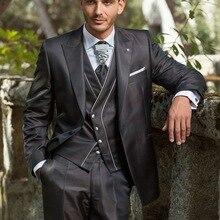 Trajes de moda para hombre, patrones brillantes, ropa informal de lujo para hombre, trajes de hombre Vintage, novio de boda