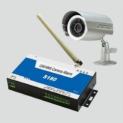 S180 GSM MMS Quad-Band Alarm Controller Externe Wetter-proof Kamera Home Intrusion Sicherheit Und Überwachung Alarm König taube