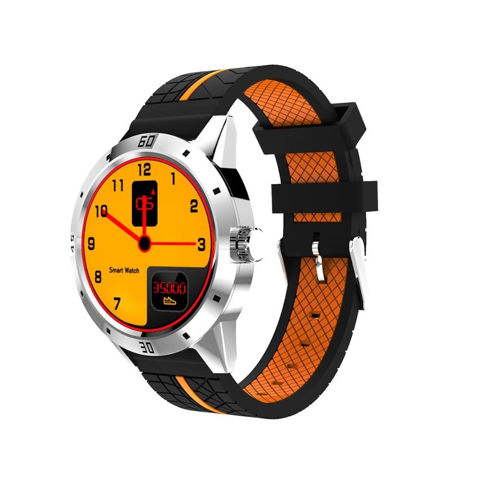 Moda N6 inteligente reloj para IOS Android smartwatch apoyo facebook whatsapp remoto Camer Correa reloj PK KW28 N3