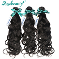 Indian Remy Human Virgin Hair Unprocessed Rosa Hair Products Natural Wave 3 Bundles Virgin Hair With Shipping Free