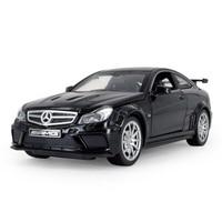 Горячие 1:32 Масштаб колеса литья под давлением автомобили Benz C63 AMG металл модель отступить сплава игрушки со светом и звуком коллекция для ма...