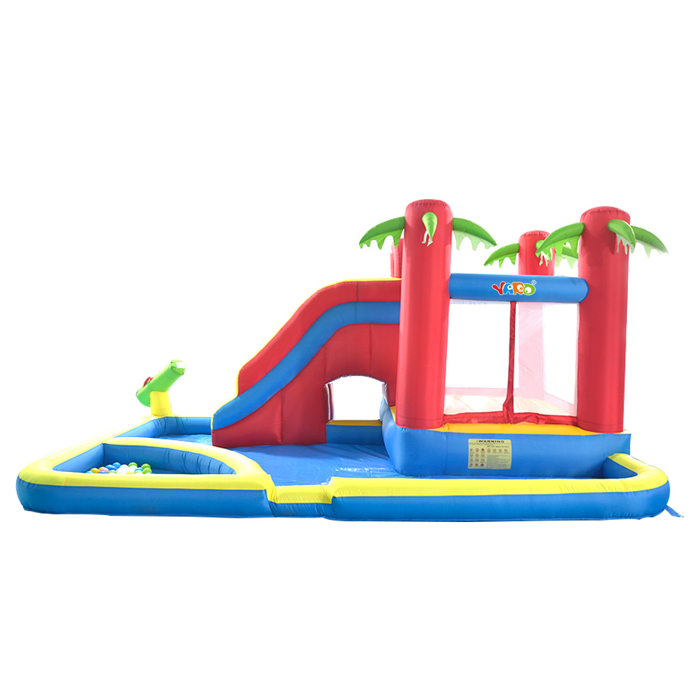 yard kids outdoor play water park inflatable slide combo summer