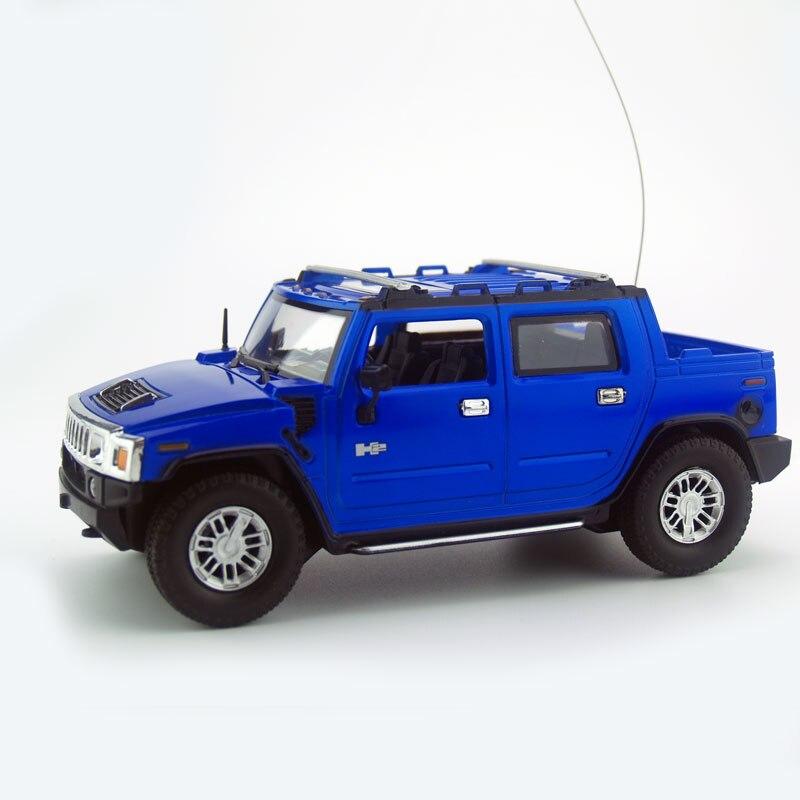Licencia 1/24 RC Modelo de Coche Hummer H2 Sut Remoto control de radio control r