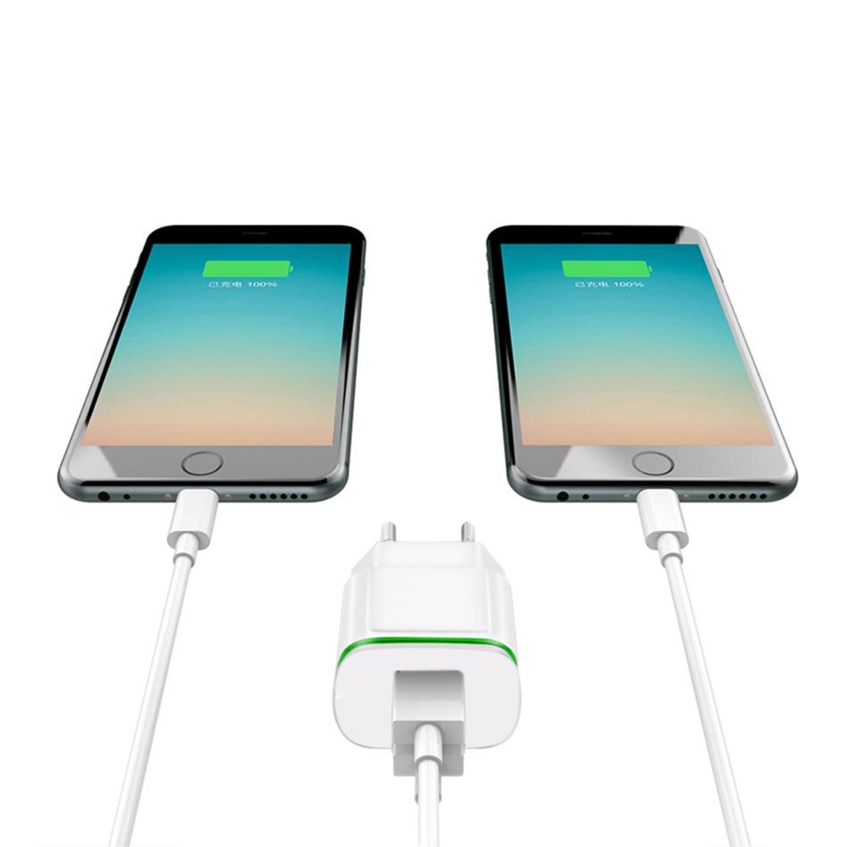 5V 2.1A Travel USB Charger Adapter EU Plug Mobile Phone for Senseit A109 A200 E510 L105 L208 P300 R450 +Free usb type C cable