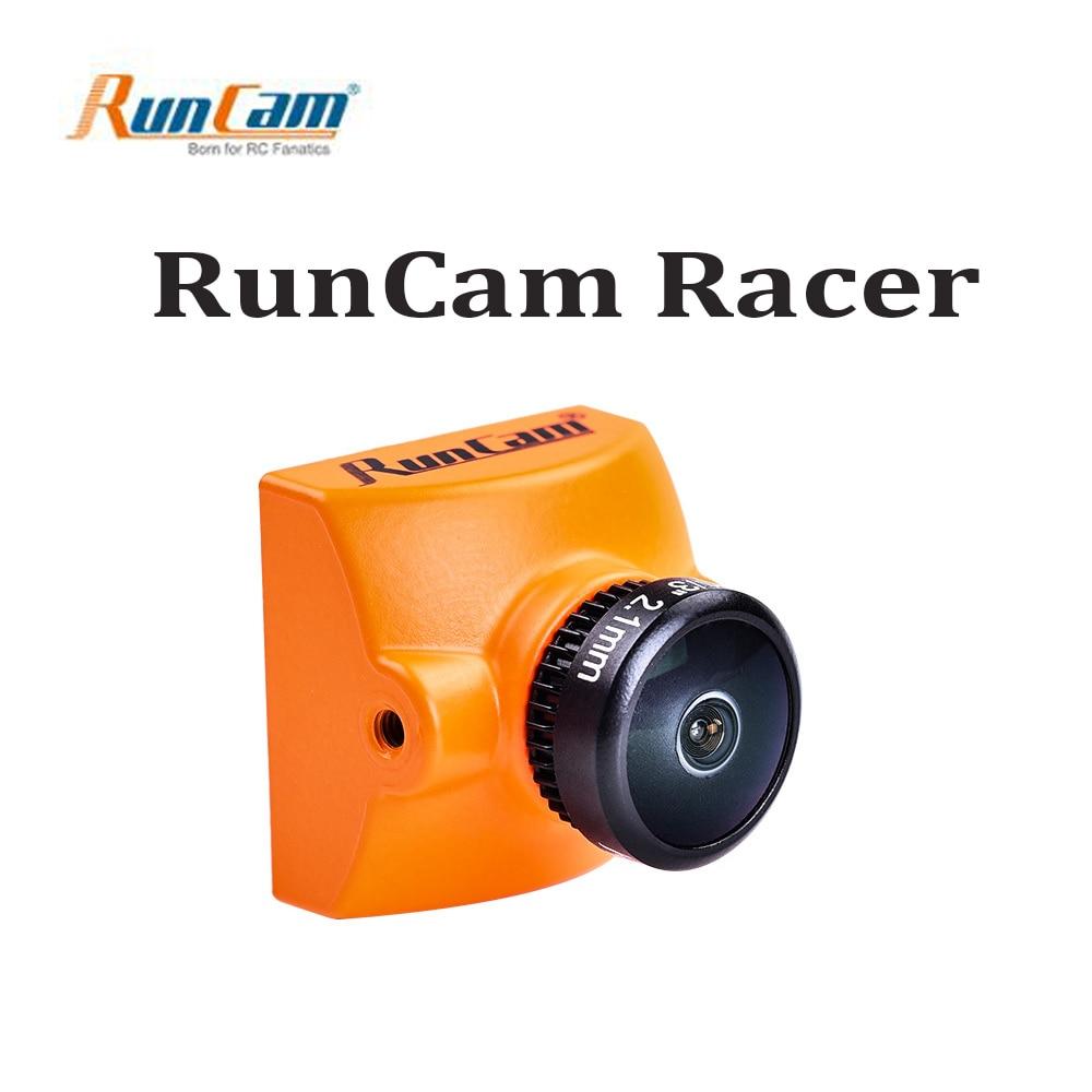 RunCam Racer 700TVL FPV Camera Super WDR CMOS Sensor 2.1mm M8 Lens Built in Remote Control PAL DC 5-36V for FPV Racing Drone aomway 700tvl hd 1 3 cmos fpv camera pal