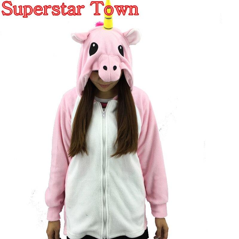 Unicorn Umbreon Women Hoodies Cosplay Costume Winter Jacket Anime Sweatshirt Zip Hoodie With Ears For Women Sweatshirt