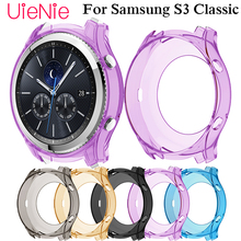 Dial protection Transparent watch case for Samsung Gear S3 smart watch protective case watch case accessorie soft silicone protective case for garmin instinct smart watch dial protection transparent watch case for garmin instinct watch