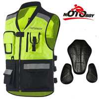 2017 New MOTOBOY Cross country Reflective clothing motorcycle riding Vest motorcycle racing jacket reflective with CE Protective