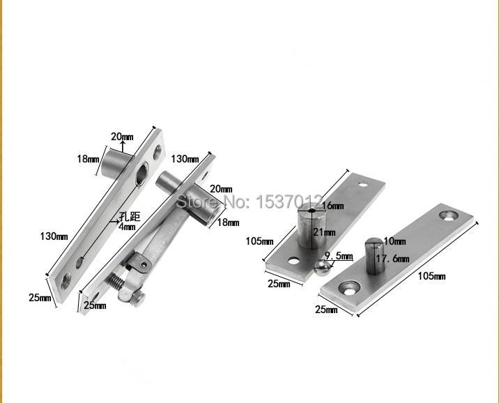 Горячие продажи, вверх и вниз вал, нержавеющая сталь, дверная петля, Поворотный Шарнир 130 мм x 25 мм 360 градусов