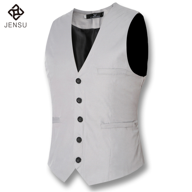 2016 Men Blazers and Vests Waistcoats Men's Casual Fashion Slim Fit Sleeveless Wedding Dress Suits Blazers Outwear Men Waistcoat