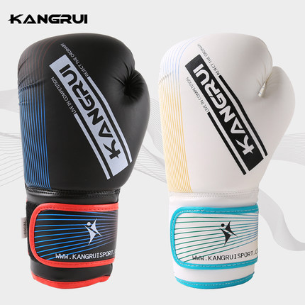 White 10oz boxing gloves mma kick boxing training muay thai men fitness gloves for adult kids free shipping все цены