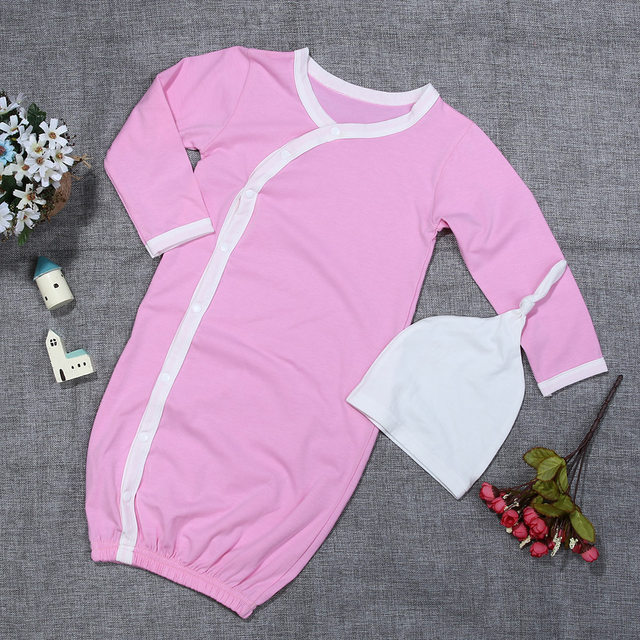 Online Shop Newborn Comfortable Sleeper Gowns Fresh Color Baby Long ...