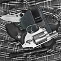 Jagd Holster Echtes Wildleder Leder Pistole Holster für J Rahmen Revolvers Taurus S & W Taktische Verdeckte Gürtel IWB Holster-in Halfter aus Sport und Unterhaltung bei