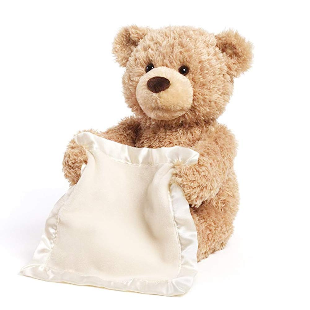 Dolls Teddy Peekaboo Seek Will Plush Elephant Hide Bear And Electric-Puzzle Children's
