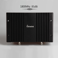 Lintratek 85dBi gsm repeater 1800Mhz celular signal booster 3g 4g lte Band 3 DCS mobile signal amplifier AGC MGC tele 2 MTS#8