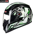 Ls2 capacete da motocicleta rosto cheio capacete kask casque rua cacapete motobike motocicleta casco capacetes de corrida de moto dos homens 358c