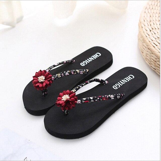 MUQGEW Flip Flops Moda Slim Senhoras Chinelos Mulheres Praia Flip Flops Sandálias Sapatos Femininos Plus Size Banho de EVA Chinelos Sandálias