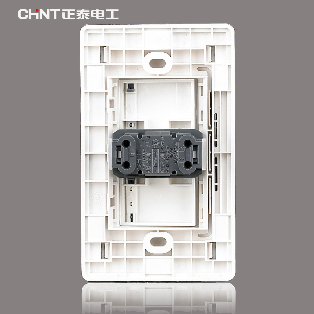 CHINT Modern Light Switches 120 Type/NEW9E Series One Gang Two Way ...