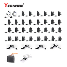 YARMEE YT100 Updated Version YT200 Tour Guide System Whisper Audio Tour Guide Earphone Tour Guide Microphone 2T And 30R цена в Москве и Питере