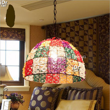 Mediterranean style lamp living room lamp bedroom lamp color single headlights Pendant Lights Rmy 0650