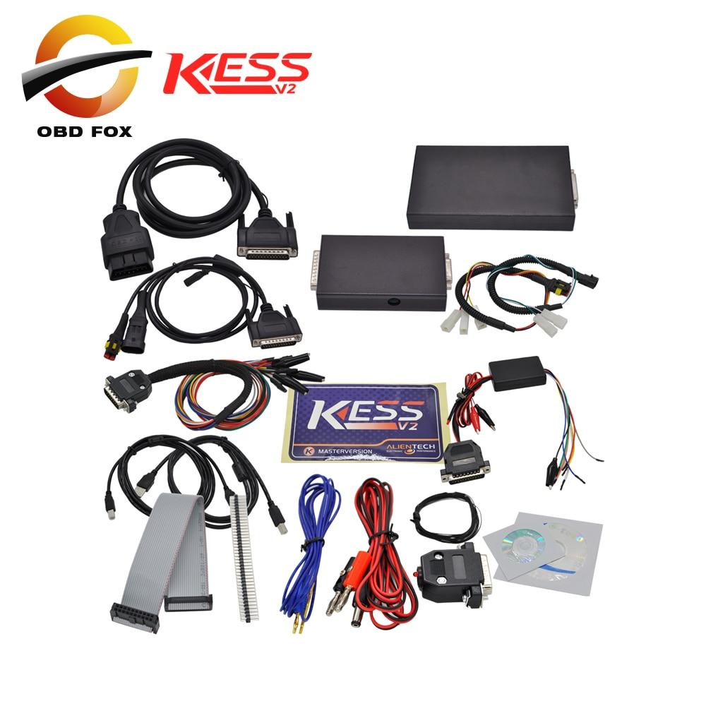Prix pour OBD outil KESS V2 OBD2 Gestionnaire Tuning Kit V2.10 ecu chip tuning outil kess v2 maître ktag 2017 shiping libre