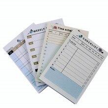 1 упаковка/60 листов, милый еженедельник, ежемесячный планировщик, липкая заметка, милый маркер, наклейка с изображением флагов, планировщик, маленькие школьные тетради, офис