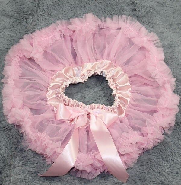 Пышная юбка для малышей Мягкая шифоновая Пышная юбка-пачка для малышей Юбка-пачка для маленьких девочек детская одежда юбка-пачка для новорожденных