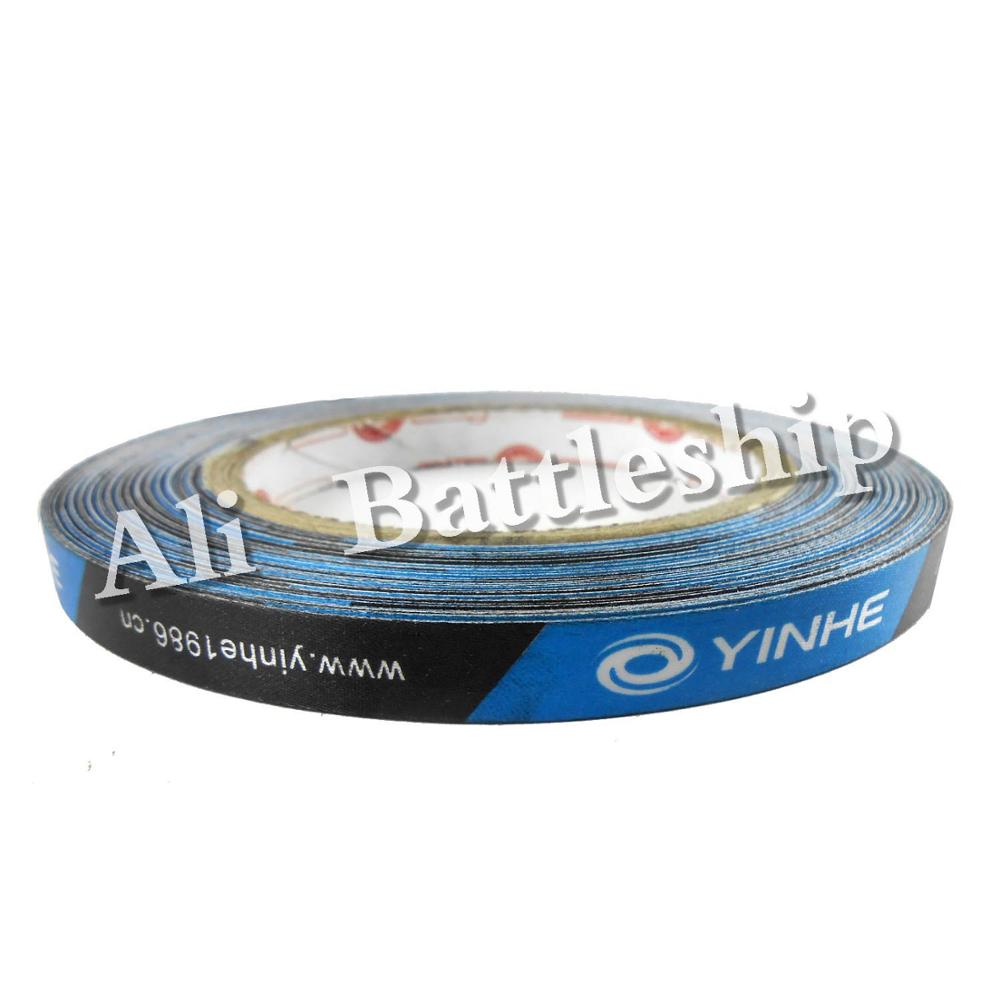 Original Yinhe Milky Way Galaxy 10mm Blue Wide Table Tennis Pingpong Edge Tape Large Roll