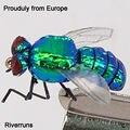 2018 Лучшая Продажа риверранс Реалистичная бутылка мухи супер крепкие мухи настоящее насекомое гордо из Европы - фото