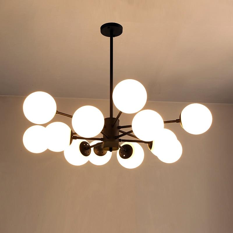 Led Modern Chandelier Novelty Fixtures Nordic Hanging Lights Restaurant Pendant Lamps Bedroom Lighting Living Room Chandeliers Ceiling Lights & Fans Lights & Lighting
