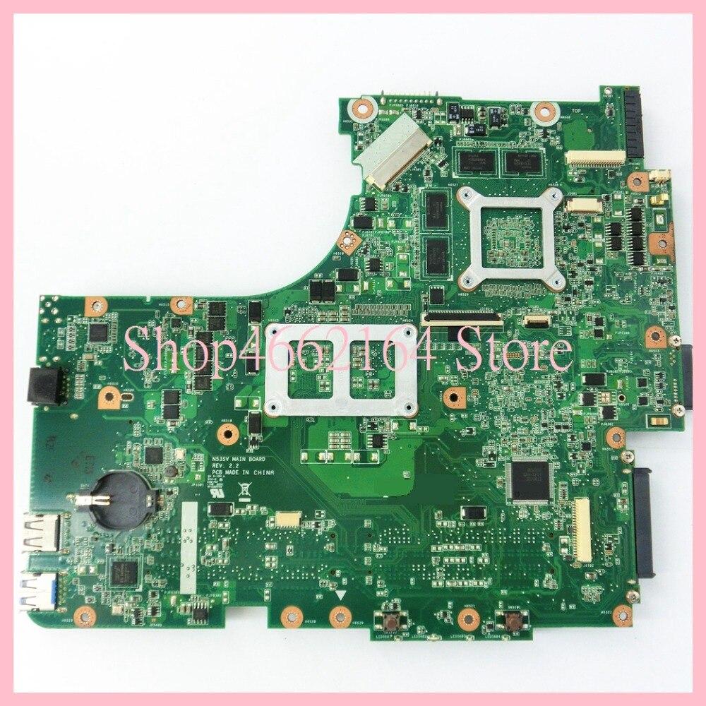 Image 2 - N53SV 4 memory slots GT540M/1GB mainboard REV2.0/REV2.2 For ASUS N53S N53SV N53SN N53SM Laptop motherboard MAIN BOARD-in Laptop Motherboard from Computer & Office