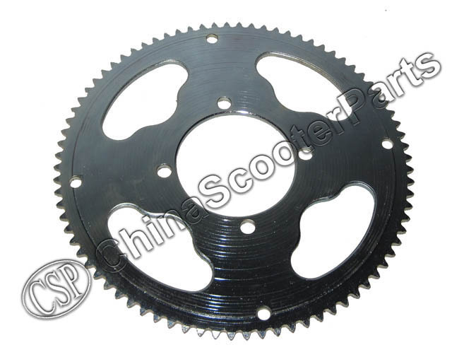 80 Tooth 25H 54MM Rear Sprocket Razor EVO X-Treme IZIP E Gas Scooter Go Kart Chopper  Mini Moto ATV Quad Dirt Pit  Bike