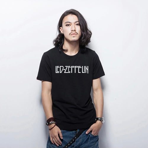 Fashion New Letter Print T Shirt Mens Black And White T Shirts