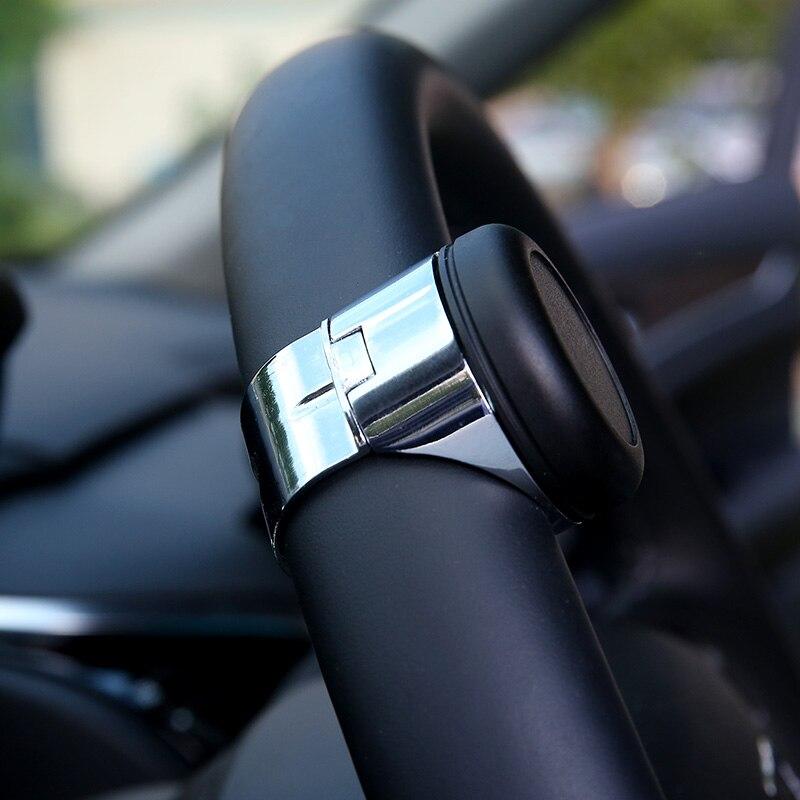 Volant de voiture Spinner bouton poignée électrique boule de contrôle à la main boule Booster roue renforcement Auto Spinner bouton boule d'or