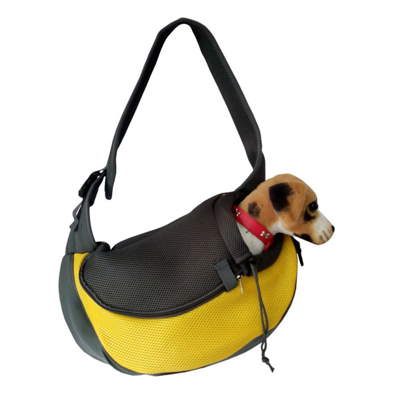 Pet Carrier Cat Puppy Small Animal Dog Carrier Sling Front Mesh Travel Tote Shoulder Bag Backpack Dog Accessories 4