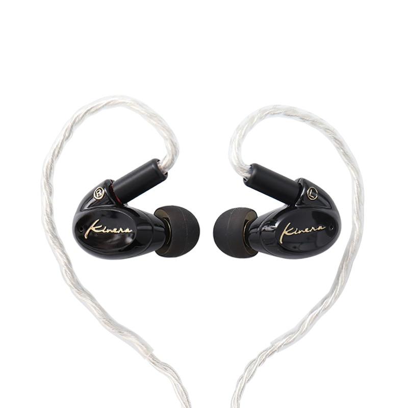 KINERA SEED 1BA 1DD Hybrid Drive 3 5mm In Ear Earphone HIFI Earphone Monitor Headset 2pin