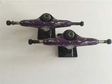 Original Element Skateboard Trucks Purple Color Aluminum 5.25″ Pro Street Truck Skate for Men Skateboarding