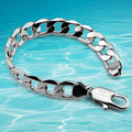 The latest men's fashion 925 sterling silver bracelet, hombres fashion jewelry, Man bangle bold personality coarse 30 gr 20 cm
