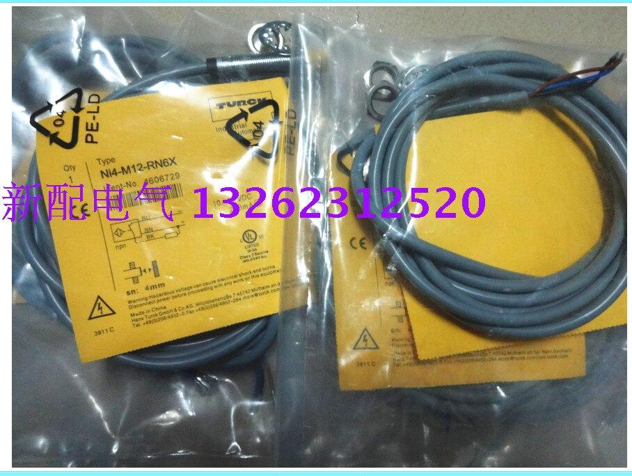 NI4-M12-RN6X Turck  New High-Quality Proximity Switch Sensor NI4-M12-RN6X Turck  New High-Quality Proximity Switch Sensor