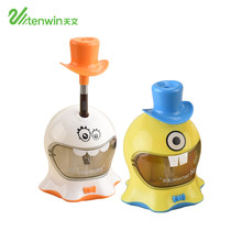 TENWIN Electronic Pencil Sharpener Creative Cute Student Electric Sharpener One Hole Apply To Pencil Of 6-8mm 8021