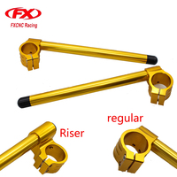 41MM FXCNC CNC Universal Adjustable Clip On Ons Handle Bar Fork 7 8 22mm Bar For