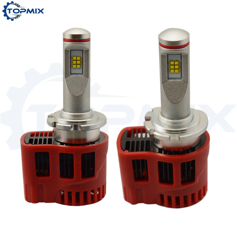 Canbus D2S D4S 90W 9000Lm LED Car Headlight Fog Light Conversion Kit Error Free Replace Halogen HID Xenon Bulb Lamp 5000K/6000K 2pcs 12v 31mm 36mm 39mm 41mm canbus led auto festoon light error free interior doom lamp car styling for volvo bmw audi benz